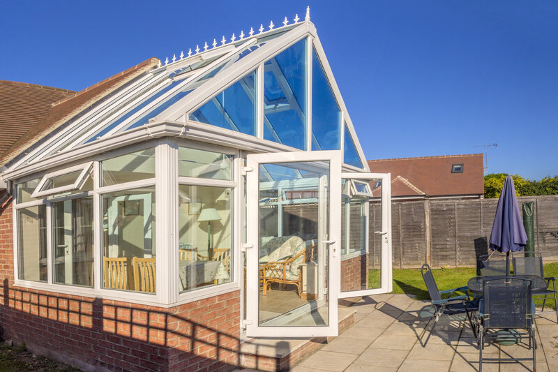 Glass Conservatory in Cheltenham Gloucestershire